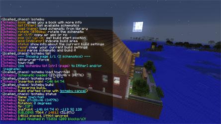 Handlers/Buildin/Schematic Builder » MCL – Minecraft Listener